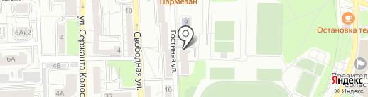 Геном+ на карте Калининграда