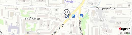 Аптечный пункт на карте Калининграда