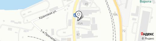 Совет пожарной безопасности Калининградской области на карте Калининграда