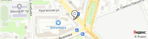 UYTKO на карте Калининграда
