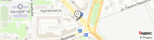 МДП-Авто на карте Калининграда