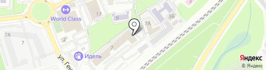 ALSERO на карте Калининграда