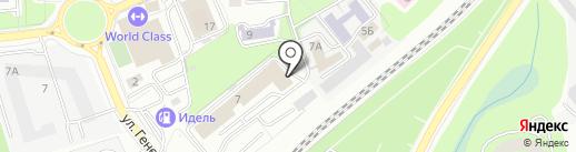 Балт-Эксперт на карте Калининграда