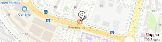 ЮНИСТРИМ на карте Калининграда