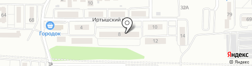Сервисная фирма на карте Калининграда