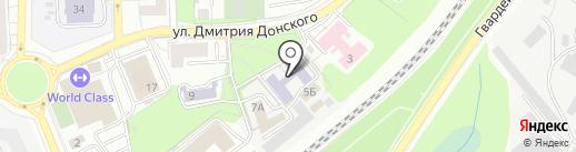 БалтВКХ на карте Калининграда