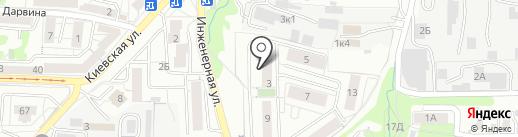 Мои документы на карте Калининграда