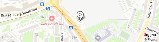 KönigTruck на карте Калининграда