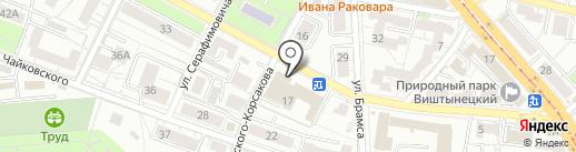 МИД России на карте Калининграда
