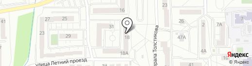 Проект Слаботочки на карте Калининграда