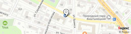 Комитет по социальной политике, здравоохранению, образованию, культуры и спорта на карте Калининграда