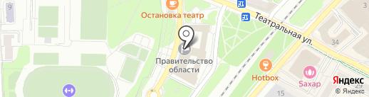 Министерство природных ресурсов и экологии Калининградской области на карте Калининграда