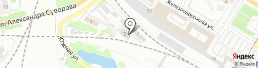 Калининградская дирекция связи на карте Калининграда