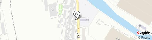Шиномонтажная мастерская на карте Калининграда
