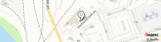 МетКон на карте Калининграда