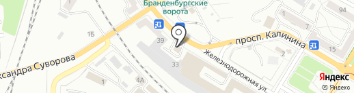 Big Art на карте Калининграда