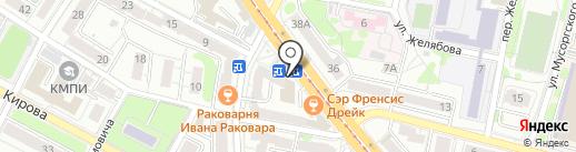 Магазин польского трикотажа на карте Калининграда