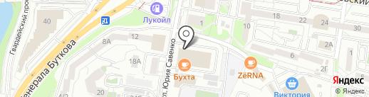 Статус на карте Калининграда