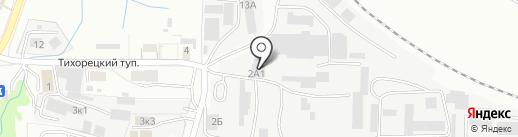 Кениг-мебель на карте Калининграда