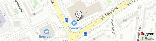 Dомашняя моZаика на карте Калининграда