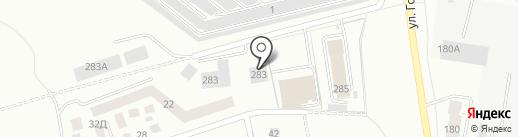 Тиберия на карте Калининграда