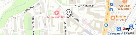 Межрегиональное объединение строителей на карте Калининграда