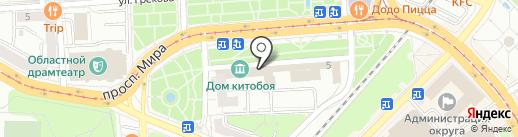 Модный дом на карте Калининграда