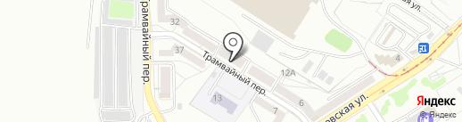 Магазин овощей и фруктов на карте Калининграда