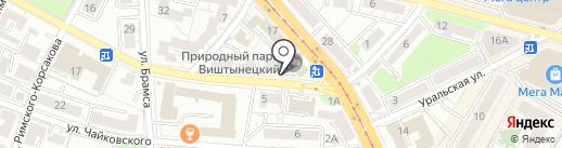 Ортопедия для всех на карте Калининграда