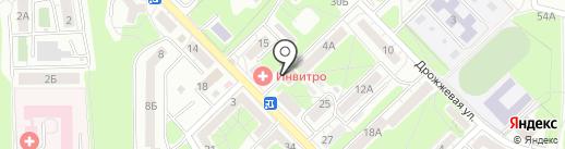 Балтлента на карте Калининграда