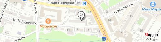 Arcobaleno Creative Lab на карте Калининграда