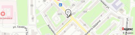 Amore+Fiori на карте Калининграда