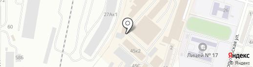 Гринда на карте Калининграда