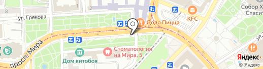 Русский хлеб на карте Калининграда