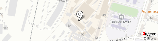 Магазин трикотажных изделий на карте Калининграда