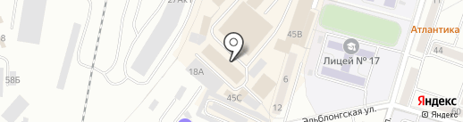 Спецодежда на карте Калининграда
