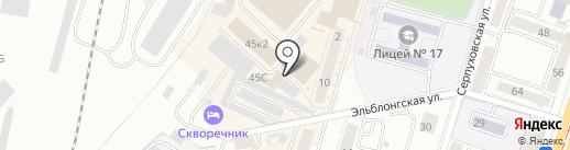 Магазин спортивной одежды и обуви на карте Калининграда