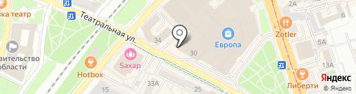 Банкомат, Банк Санкт-Петербург, ПАО на карте Калининграда