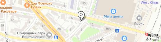 iService39 на карте Калининграда