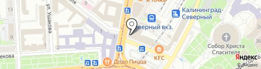 Royal Hookah на карте Калининграда
