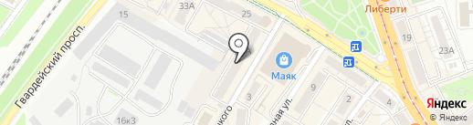 Место силы на карте Калининграда