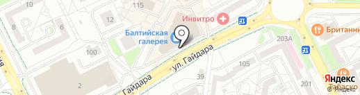 EUROSPAR на карте Калининграда
