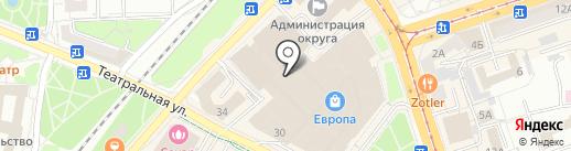 Image Silver на карте Калининграда