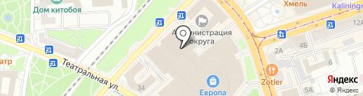 Мой фотогород на карте Калининграда