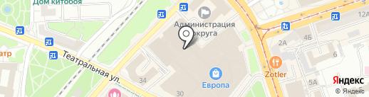 KIDMAN на карте Калининграда