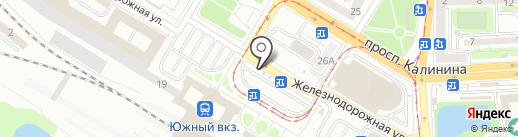 Coffee Pub на карте Калининграда