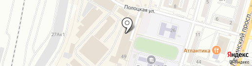 Мебельная база на карте Калининграда