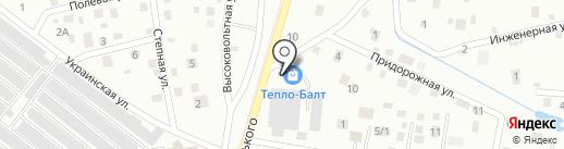 Тепло-Балт на карте Калининграда