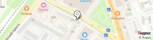 Пицца Хаус на карте Калининграда