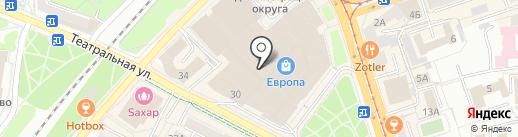 PickPoint на карте Калининграда